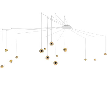Studio Italia Design Spider 14, gold