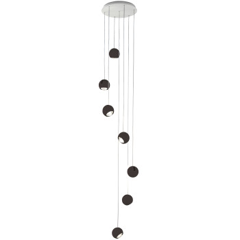 Studio Italia Design Spider 7, schwarz matt