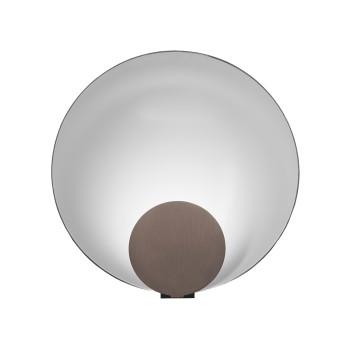 Oluce Siro 287 Tischleuchte, bronze satiniert