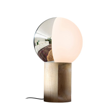 Penta Je Suis Table Lamp, natural oak wood