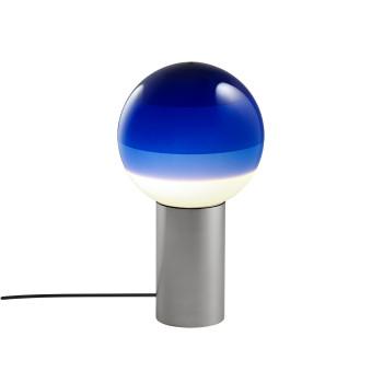 Marset Dipping Light S, graphitgrau / blau