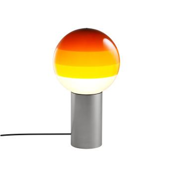 Marset Dipping Light S, graphitgrau / bernstein
