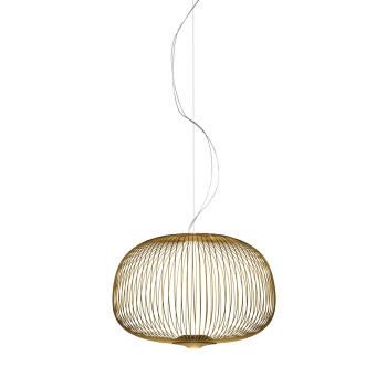 Foscarini Spokes 3 Sospensione MyLight, gold