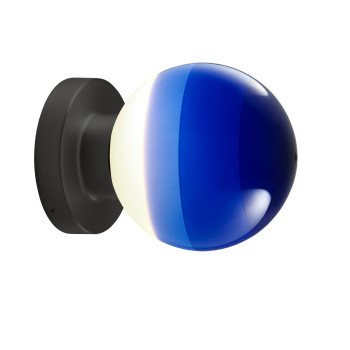 Marset Dipping Light A2-13, graphitgrau / blau
