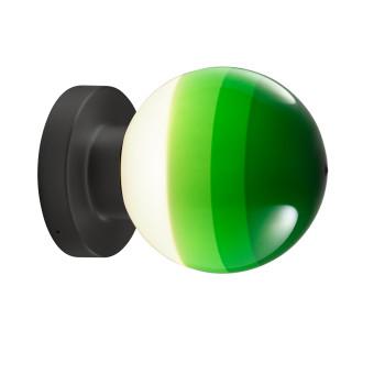 Marset Dipping Light A2-13, graphitgrau / grün