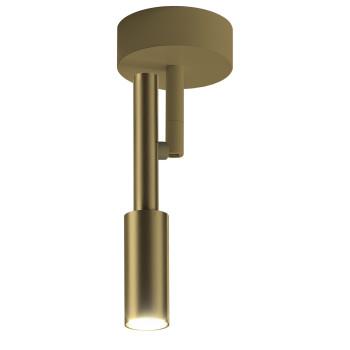 Panzeri Tubino Wand-/Deckenleuchte, bronze