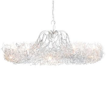 Brand van Egmond Hollywood Candlestick Lustre, ⌀ 120 cm, blanc