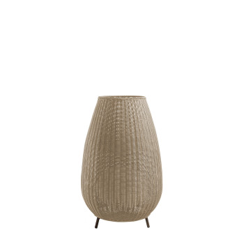 Bover Amphora LED, Schirm hellbeige