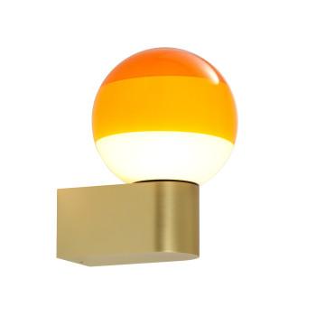 Marset Dipping Light A1-13, Messing gebürstet / bernstein