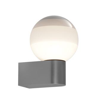 Marset Dipping Light A1-13, graphitgrau / creme-weiß