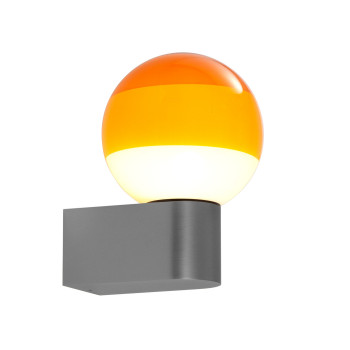 Marset Dipping Light A1-13, graphitgrau / bernstein