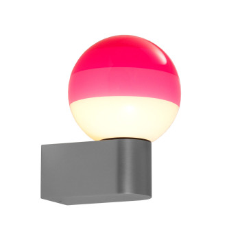 Marset Dipping Light A1-13, graphitgrau / pink