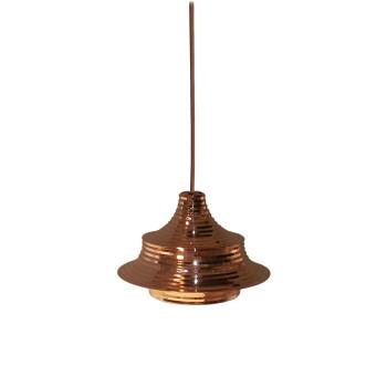Bover Tibeta 02, Kupfer glänzend / kupferfarbenes Metallkabel