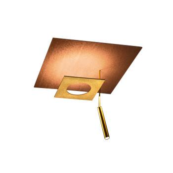 Icone Petra P2.40 Deckenleuchte, Kupfer / Messing