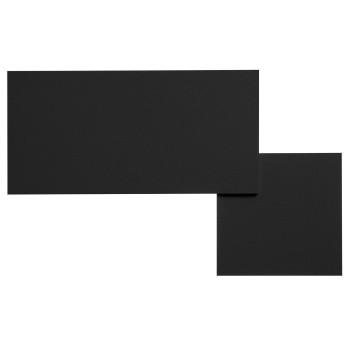 Lodes Puzzle Square & Rectangle, schwarz matt, 2.700K