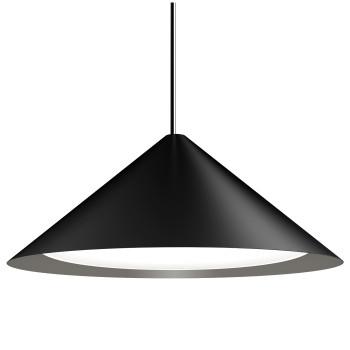 Louis Poulsen Keglen 650, schwarz, 2700K, phasendimmbar