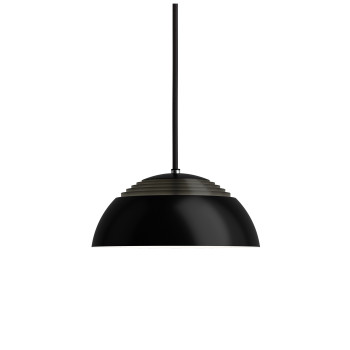 Louis Poulsen AJ Royal 250 LED, schwarz, 2700K, phasenabschnittdimmbar