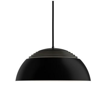 Louis Poulsen AJ Royal 370 LED, schwarz, 2700K, DALI