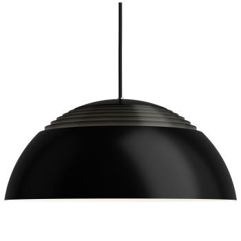 Louis Poulsen AJ Royal 500 LED, schwarz, 2700K, phasenabschnittdimmbar