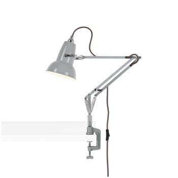 Anglepoise Original 1227 Mini Lamp with Desk Clamp, taubengrau