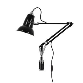 Anglepoise Original 1227 Mini Wall Mounted Lamp, schwarz