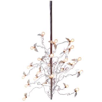 Ingo Maurer Birds Birds Birds LED, Maximallänge 300 cm, Kabel rot/blau