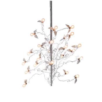 Ingo Maurer Birds Birds Birds LED, Standardlänge 190 cm, Kabel transparent