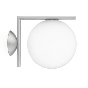 Flos IC Lights C/W1 Outdoor, Edelstahl gebürstet