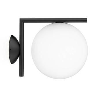 Flos IC Lights C/W1 Outdoor, schwarz