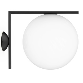 Flos IC Lights C/W2 Outdoor, schwarz