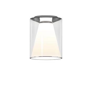 Serien Lighting Drum Ceiling M, Glas lang, 3000K