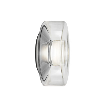 Serien Lighting Curling Wall S, Glas klar, 2700K