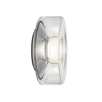 Serien Lighting Curling Wall M, Glas klar, 1800K-3000K (dim to warm)