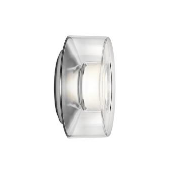 Serien Lighting Curling Wall M, Acrylglas klar, 2700K