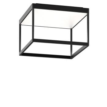 Serien Lighting Reflex² Ceiling M 200, Gehäuse schwarz, Glas weiß matt