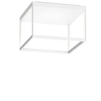 Serien Lighting Reflex² Ceiling M 200, Gehäuse weiß, Glas strukturiert weiß