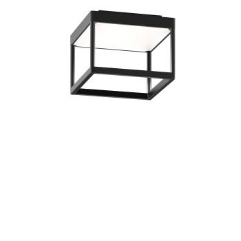 Serien Lighting Reflex² Ceiling S 150, Gehäuse schwarz, Glas weiß matt