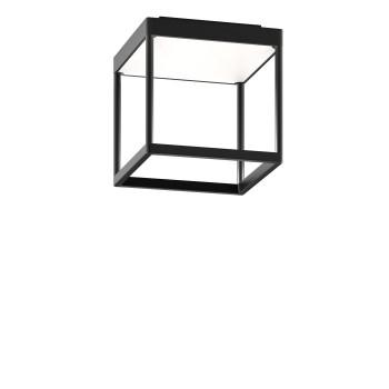 Serien Lighting Reflex² Ceiling S 200, Gehäuse schwarz, Glas weiß matt