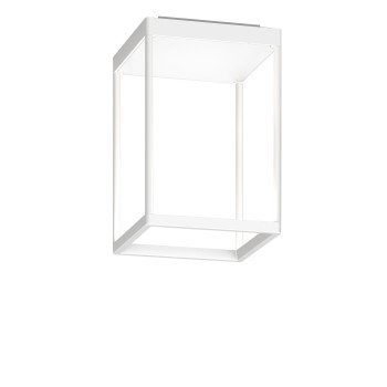 Serien Lighting Reflex² Ceiling S 300, Gehäuse weiß, Glas strukturiert weiß
