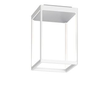 Serien Lighting Reflex² Ceiling S 300, Gehäuse weiß, Glas strukturiert silber