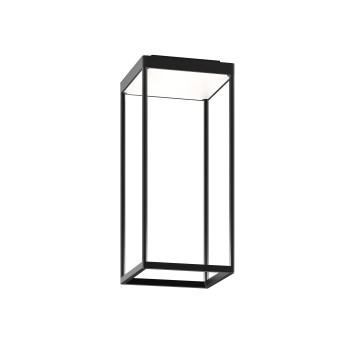 Serien Lighting Reflex² Ceiling S 450, Gehäuse schwarz, Glas weiß matt