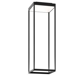 Serien Lighting Reflex² Ceiling S 600, Gehäuse schwarz, Glas weiß matt