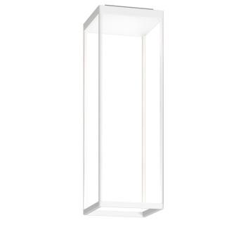 Serien Lighting Reflex² Ceiling S 600, Gehäuse weiß, Glas strukturiert weiß