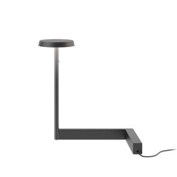 Vibia Flat 5970 Tischleuchte, schwarz