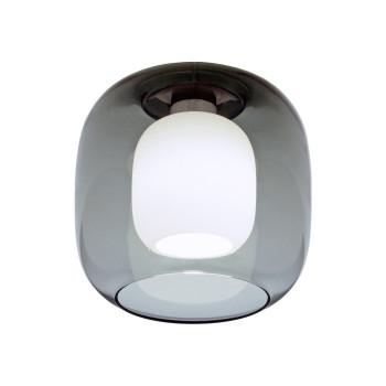 Casablanca Murea Deckenleuchte, Glas graphit / Diffusorglas opal weiß matt