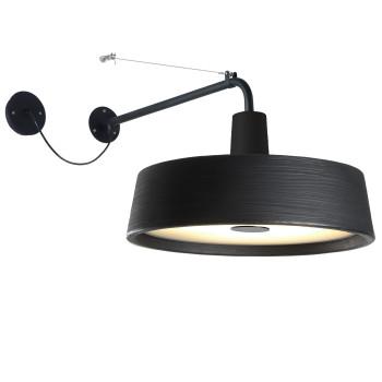 Marset Soho A LED, schwarz