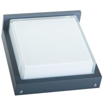 Bega 24132 Wandleuchte, silber, 3000K (neutralweißes Licht)