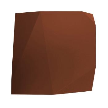 Vibia Origami 4501 Wandleuchte, Terra Dark (rot)