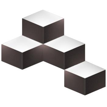 Vibia Fold Surface 4204, matt dunkelbraun
