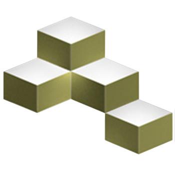 Vibia Fold Surface 4204, matt grün